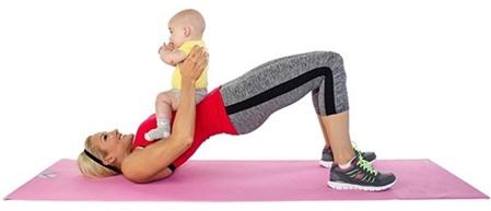 Những bài tập thể dục giảm cân kỳ diệu cho bà mẹ